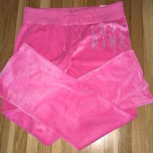 👖PINK VICTORIAS SECRET sweatpants